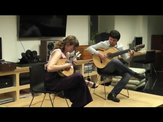 "Raiz Latina Duo ""Assanhado by Jacob do Bandolim"""