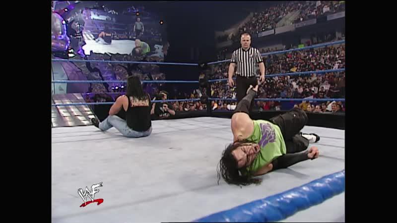 WWF SmackDown 13.12.2001 - Matt Hardy vs Bradshaw