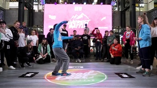 Everest battle  | Hip-Hop kids | Final | Коробов Дима vs Круглова Настя (win)