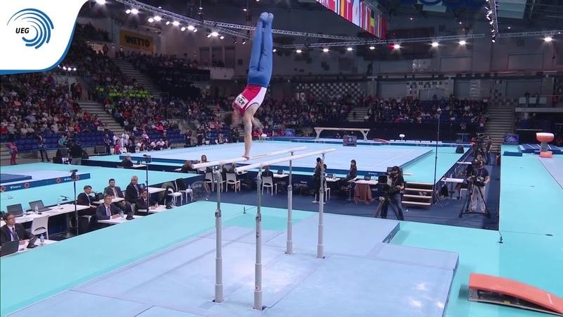 Nikita NAGORNYY (RUS) - 2019 Artistic Gymnastics European Champion, parallel bars