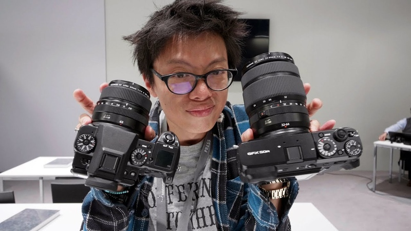 Photokina 2018.Kai W. Roundup - Fuji GFX 50R LOK Zenit M Cool Tripods New Camera Accessories!