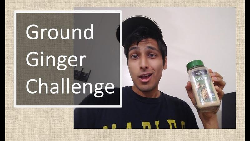 Ground Ginger Challenge 😰 😰 😰