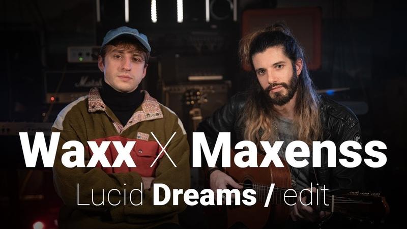 Waxx x Maxenss Lucid Dreams Edit Cover