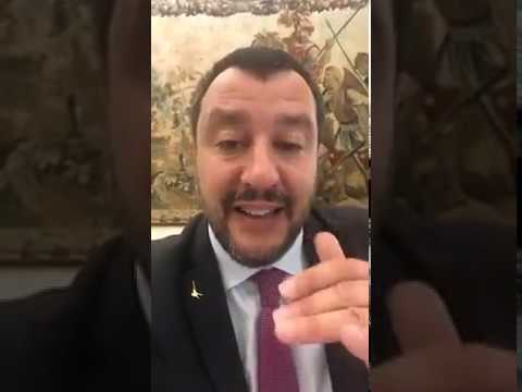 Salvini - Al lavoro per il bene e la sicurezza degli Italiani (11.07.19)