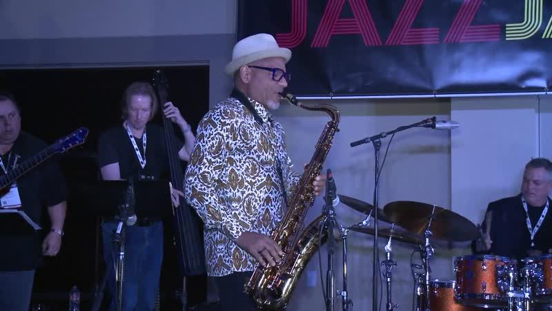JodyJazz at the 2019 Jazz Jam - Kirk Whalum Performs Triage