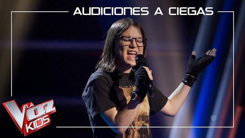 Sofía Esteban canta Miss celies blues   Audiciones a ciegas   La Voz Kids Antena 3 2019