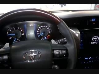 Установка авторской противоугонной системы на автомобиль Тойота в Авто Ателье АврорА
