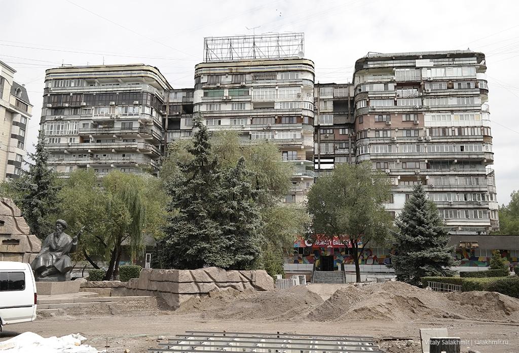 ЖК Три богатыря в Алматы, проспект Достык 2019
