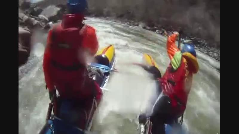 Сплав по рекам М.Нарын - Чонг-Кемин - Кекемерен, Киргизия