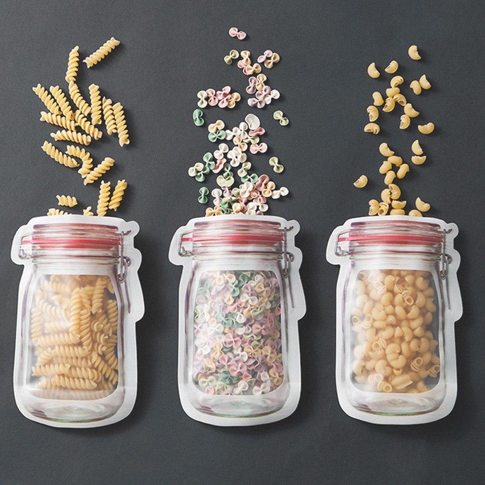 Удобные пакетики для хранения продуктов или легких перекусов