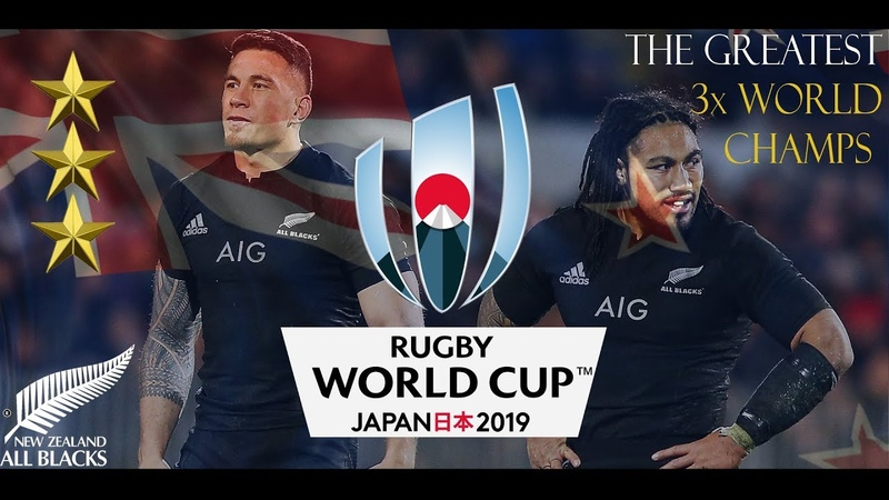 The All Blacks ♦ Greatest Team in History ♦ RWC 2019 Promo