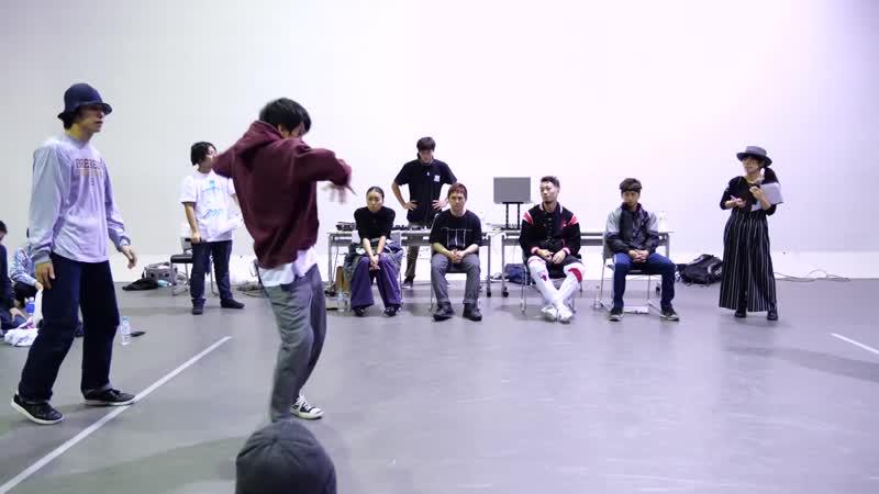バトクラ BEST8 3 最後のゴーヤ祭 vs ISOGOカントリー倶楽部 アニソンダンスバトル sm34643540