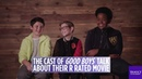 'Good Boys' cast interview about starring in a R-rated movie with lots of F-bombs