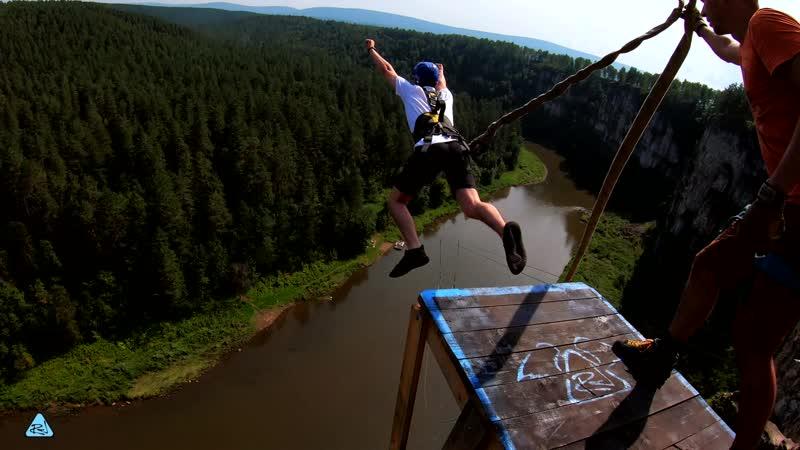 41 - Айские Притёсы (17-18 августа) No Angels Team/ Прыжки с веревкой на Урале
