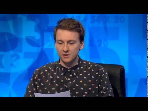Joe Lycett on 8 Out of 10 Cats Does Countdown Letter 1