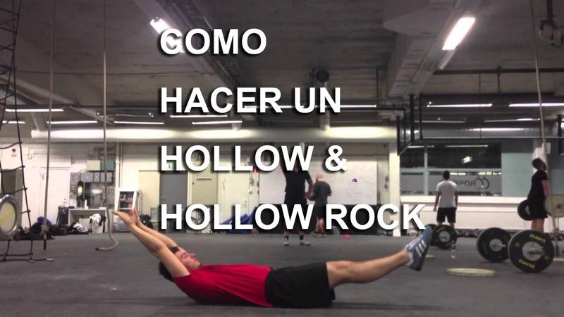 Abdominales ¿Como hacer un hollow CrossFit