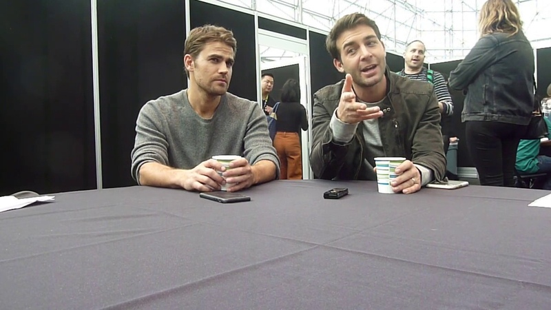 NYCC 2018 Tell Me a Story Paul Wesley and James Wolk