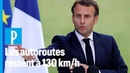 Convention citoyenne: Macron reporte le débat des 110 km h sur autoroute