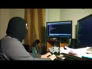 Хакеры ведут атаку на пентагон 3 минуты.mp4