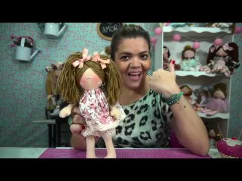 Boneca Lizi - Iniciantes Facil de Fazer