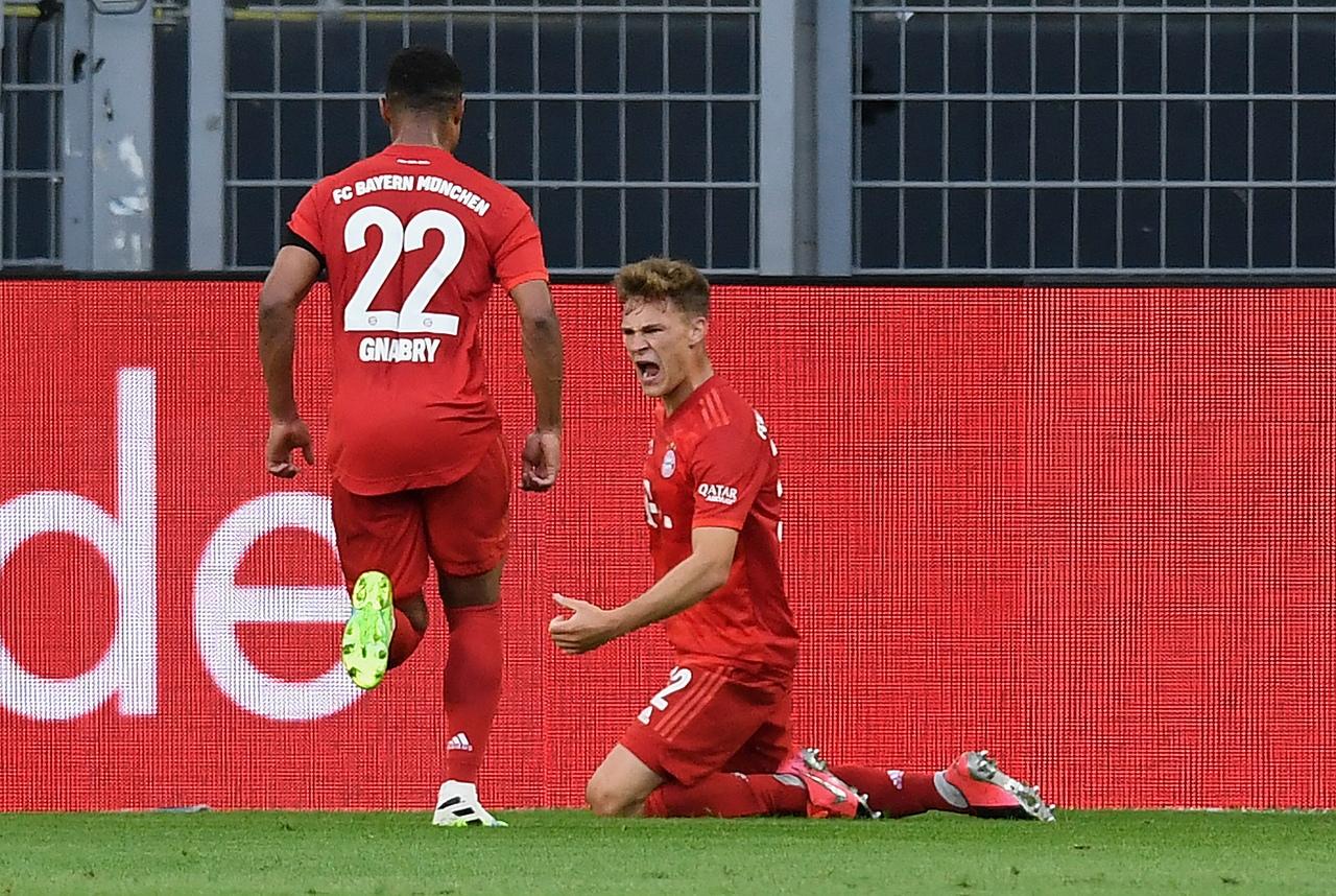Боруссия - Бавария, 0:1. Гол Йозуа Киммиха