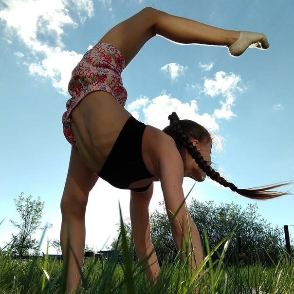 Тренировки на свежем воздухе 🍃