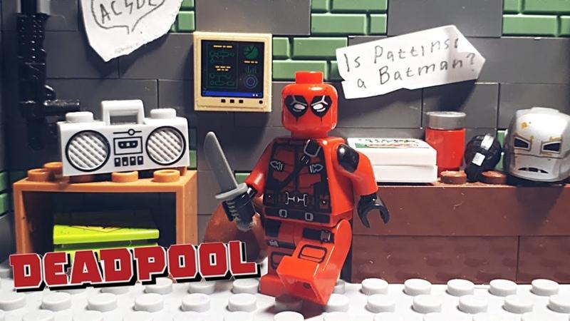 Deadpool's Shootout Stop Motion