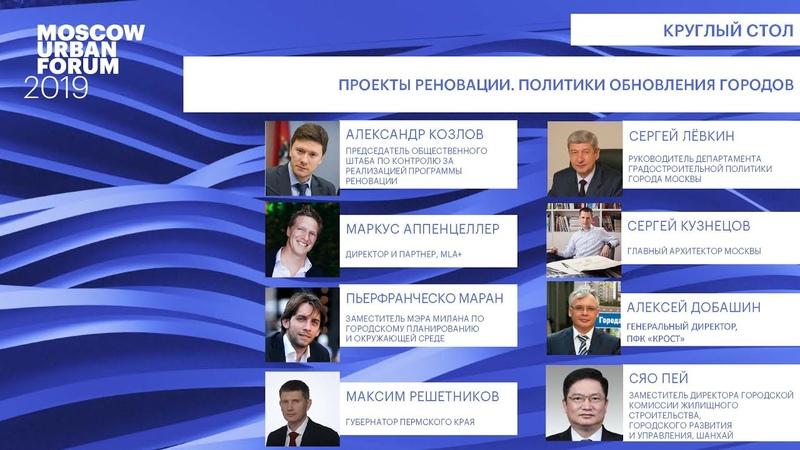 MUF2019 Проекты реновации Политики обновления городов 04 07