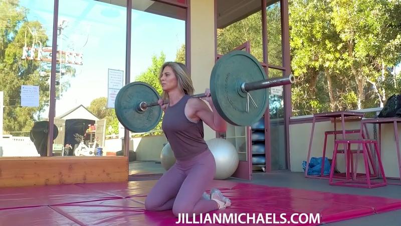 TOTAL BODY BARBELL WORKOUT STRENGTH BUILDING FAT BURNING - JILLIAN MICHAELS
