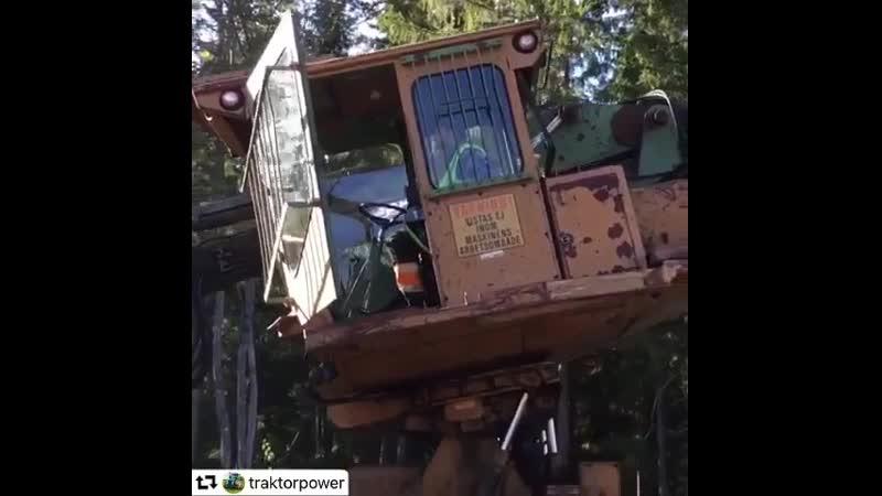 Гусеницы и цепи для ЛЗК Форвардер, Харвестер, Скиддер т.89210169000.mp4