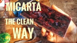 How To Make Micarta Marble Rag THE CLEAN WAY