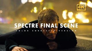 Daniel Craig - Christoph Waltz - Spectre Ending Scene   Color Corrected    James Bond - 007
