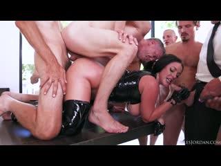 Angela White - Dark Side Scene 2 Her Biggest Gangbang Ever Double Anal Triple Penetration - Big Tits, Porn