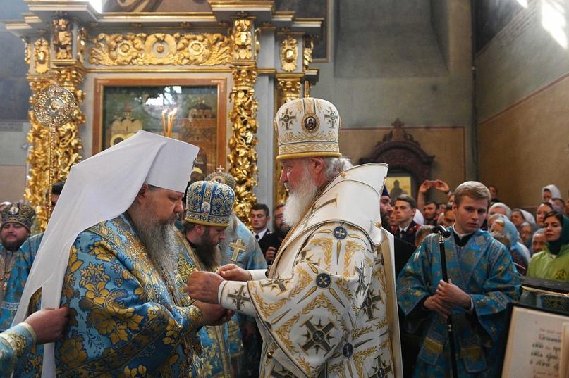 Возведение в сан митрополита владыки Корнилия. Донской монастырь, Москва, 2019 год.