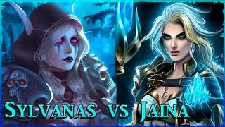 Sylvanas vs Jaina  Isabella ft. Sharm   Warcraft Song (parody collab)