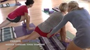Balance Lunge Forward with Senior Iyengar Yoga Teacher Carrie Owerko