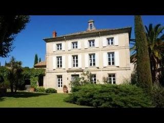 2119 #Narbonne area: Superb residence, large 19th Century Maison de Maître for sale