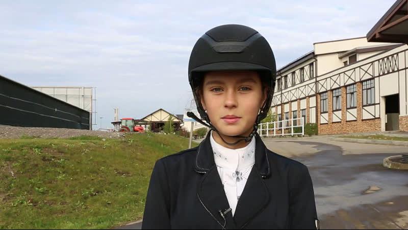 Олеся Лукина - лучшая на 105 см в программе CSI-1*