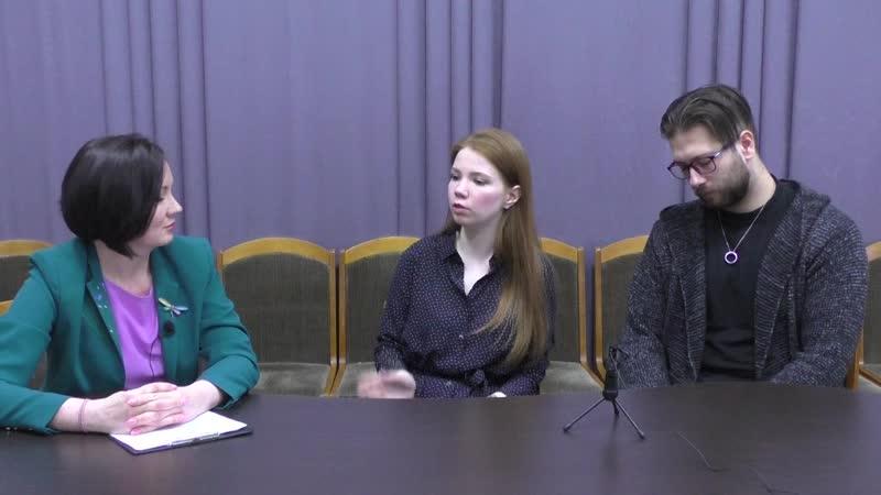 Творческая гостиная с А.Ельцовой и Н. Воробьёвым