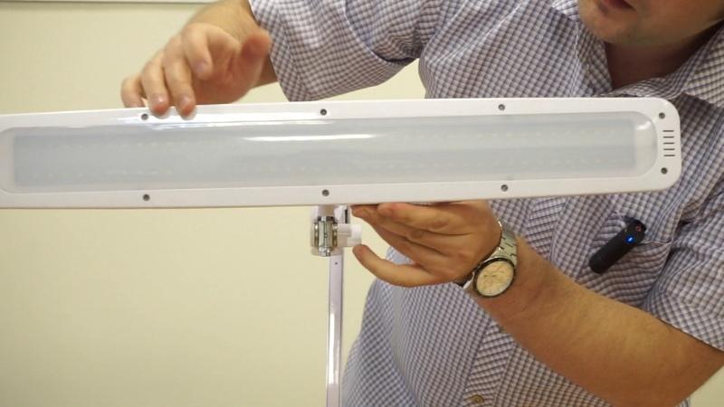 8015LED U бестеневой светодиодный настольный светильник лампа