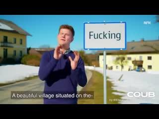 Fucking, a beautiful village
