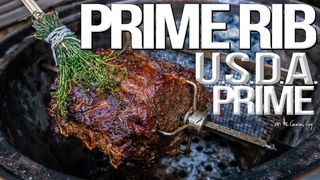 How to Cook Perfect Prime Rib Every Time | SAM THE COOKING GUY 4K