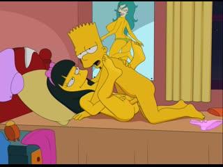 Bart_Simpson Jessica_Lovejoy Sfan The_Simpsons animated webm