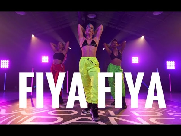 Fiya Fıya Rufus Blaq Nicole Kirkland Choreography for WOD U Jam