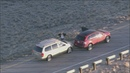 Dramatic moments in chase of kidnapping suspect