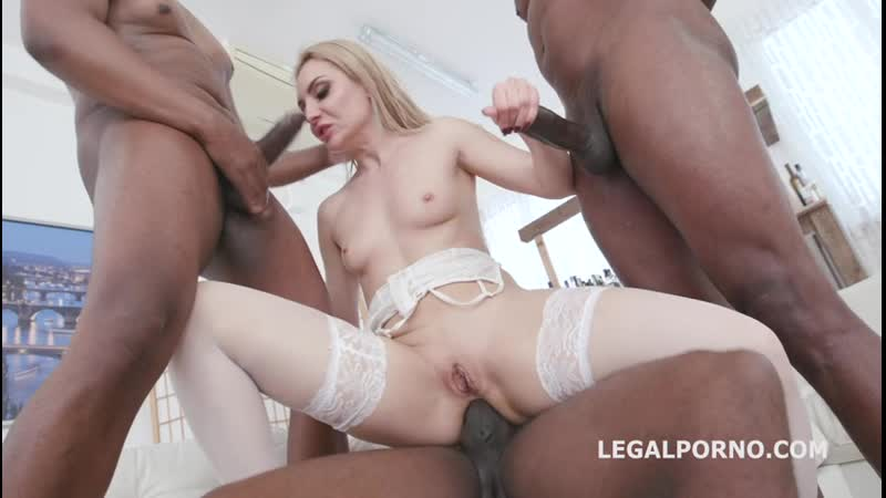 First DAP attempt with Caty Kiss, Balls Deep Anal, DP, DAP, Gapes, Creampie and Swallow GL085 sd