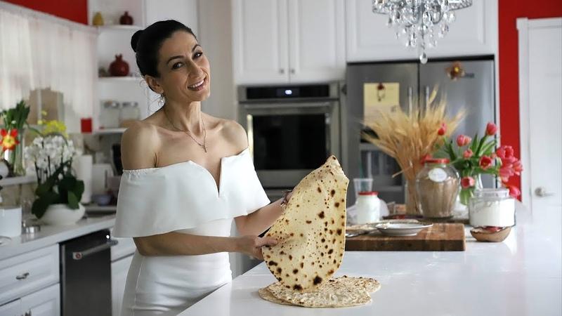 Армянский Лаваш в Домашних Условиях Армянская Кухня Рецепт от Эгине Heghineh