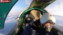 Russian fighter jets show aerial refueling skills