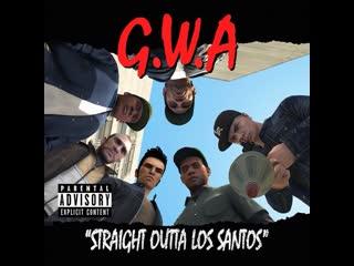 """straight outta los santos"" ft. franklin clinton, lamar davis & trevor philips"