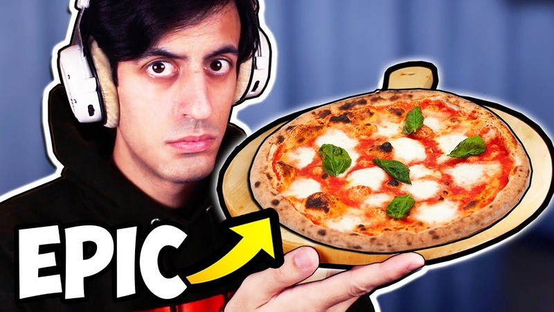 I cook pizza... (CAUGHT ON CAMERA)